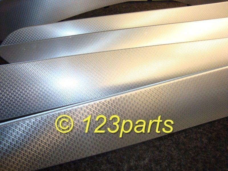 Interieur sierlijsten s line aluminium for Audi interieur onderdelen